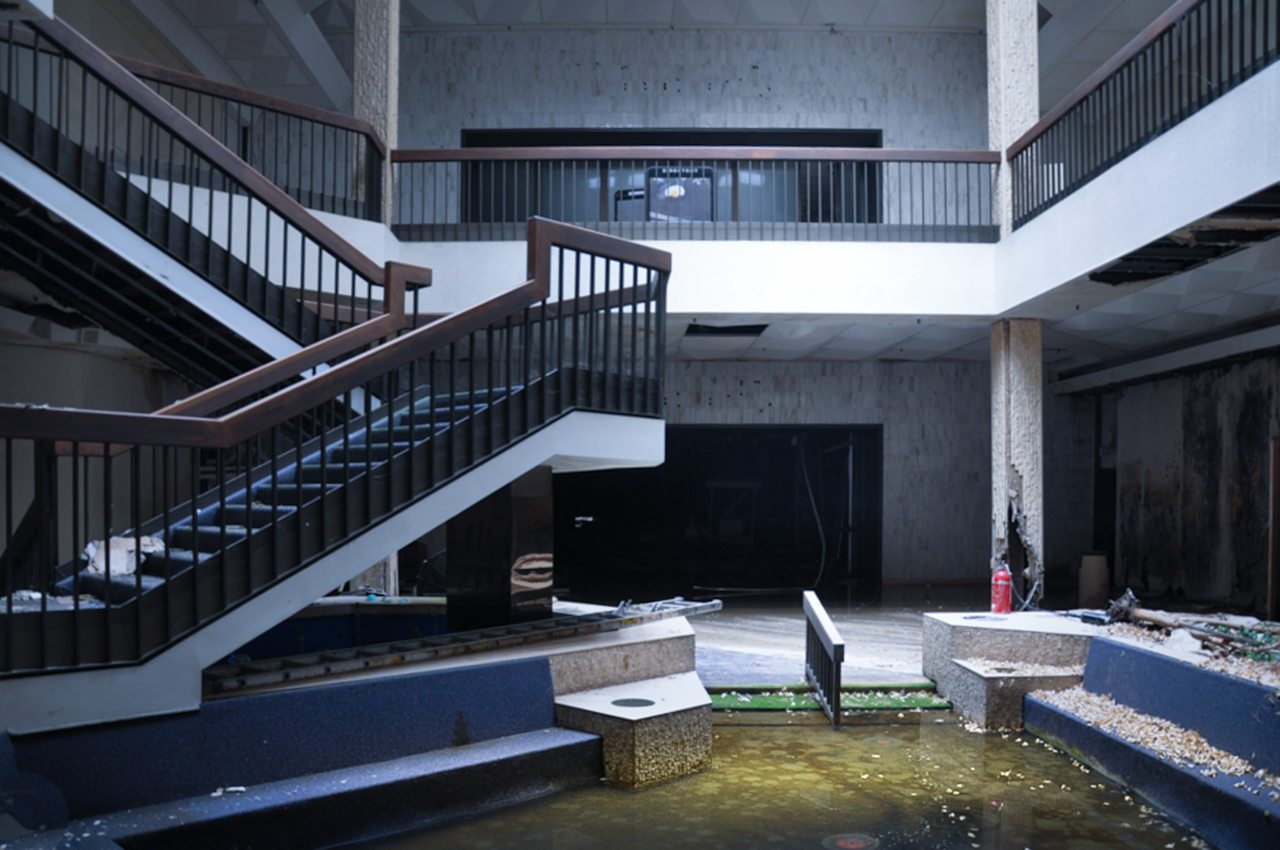 Abandoned North Randall Park Mall in Cleveland, Ohio