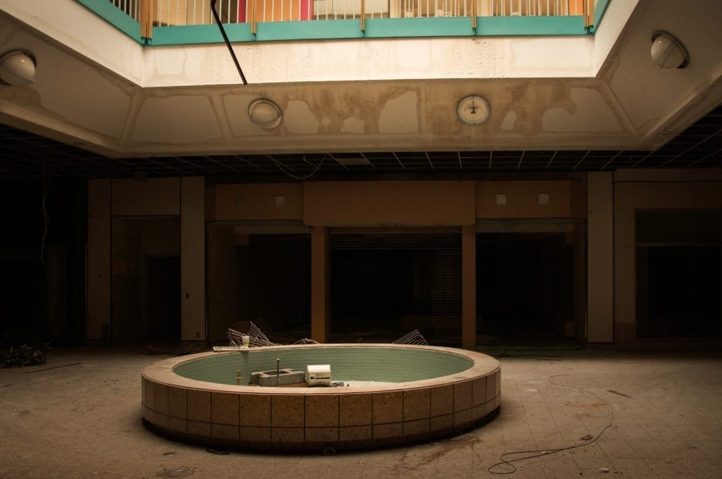 Abandoned Metro North Mall